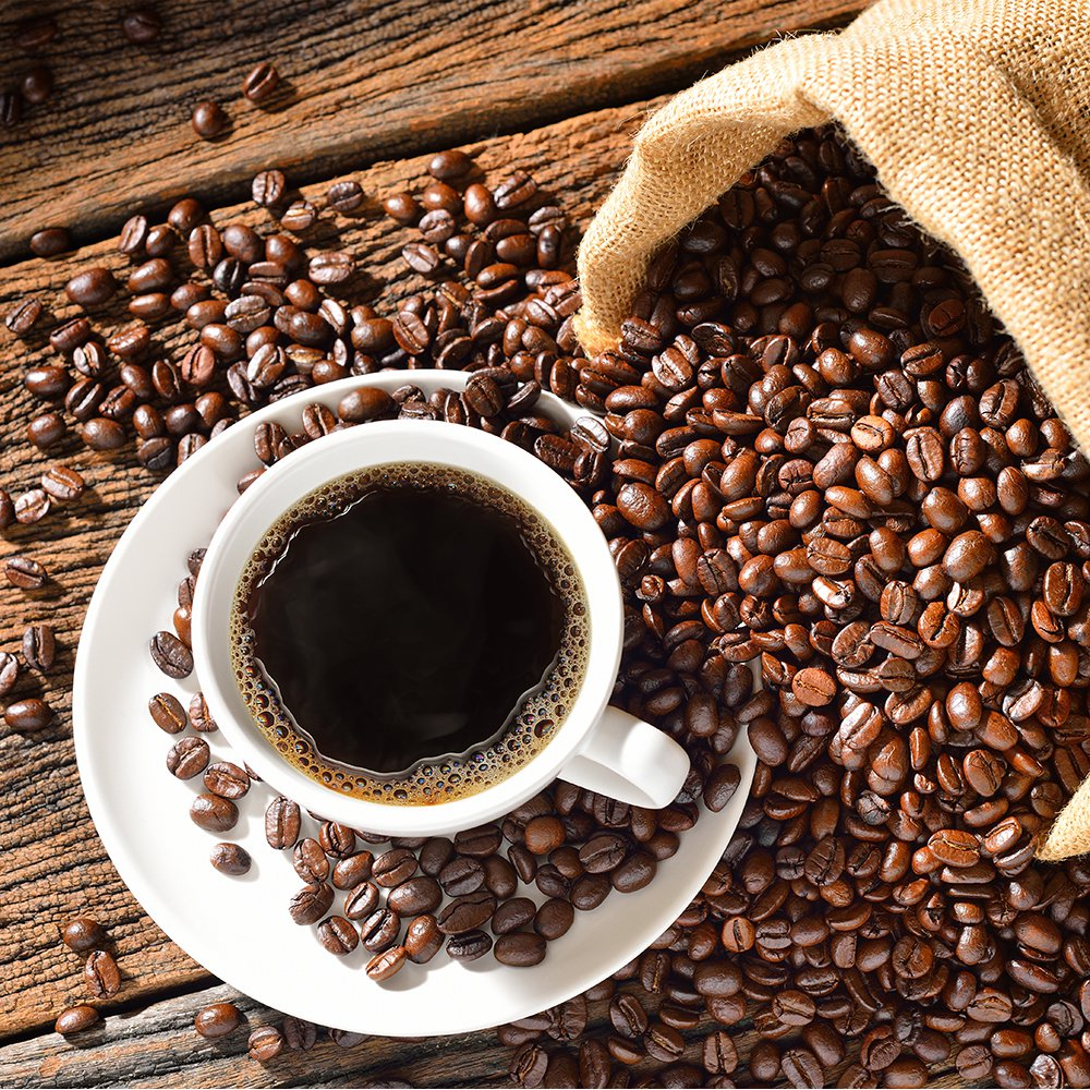 Grains de café- bienfaits du café sur l'organisme