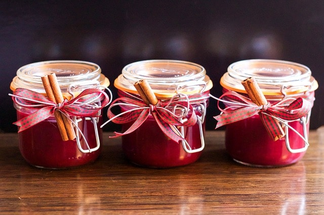 Confiture de cranberry